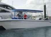 Embarcacion de buceo max diver 31 en benito juárez
