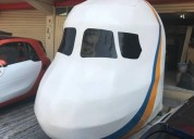 Cabina de avion de madera en atizapán de zaragoza