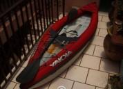 Kayak lancha inflable acuatica extremo