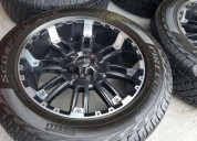 Incubus off road rines 20 pirelli scorpion.
