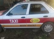 Taxi emplacado nissan tsuru gasolina