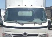 Camión rabon hino 716 serie 300 modelo 2009 diesel
