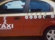 Taxi chevrolet gasolina