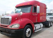 858 tractocamion freightliner columbia 120 10 vel diesel