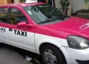 Taxi chevy gasolina en tlalpan