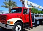 grua titan 14 tons camion international diesel