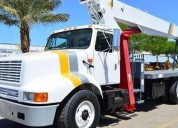grua titan 23 tons camion international diesel