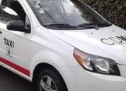 Vendo taxi con placas gasolina