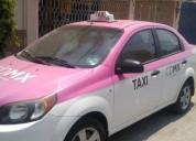 Taxi vendo chevrolet modelo aveo gasolina