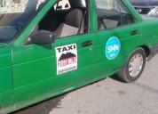 Venta taxi tsuru y concesion negociable en san nicolás de los garza