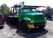 Excelente grua para 5 ton en camion dina diesel