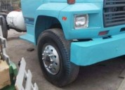 Camion ford f 600 gas
