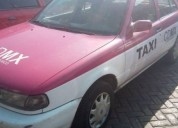 Nissan placas taxi renovadas en xochimilco