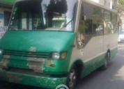 Microbus chevrolet a gas 23 pasajeros gas
