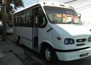 Microbus chevrolet original 23 pasajeros gasolina