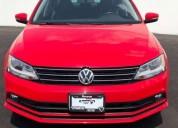 Volkswagen jetta mk vi sport line rojo 2016 gasolina