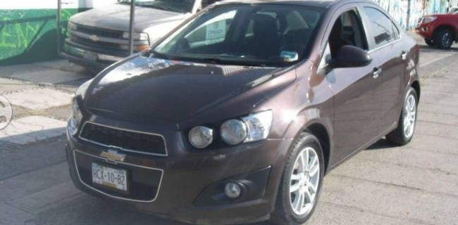 Chevrolet sonic 2016 Gasolina