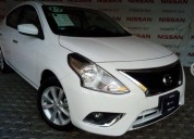 Flamante nissan versa advance como nuevo gasolina