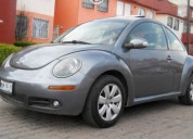 Vw beetle gls color gris equipado gasolina