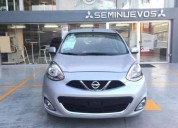 Nissan march advance 2016 te esta esperando gasolina
