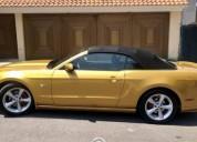 Mustang gt convertib color unico automatico gasolina