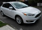 Ford focus 2 0 se unico dueno gasolina