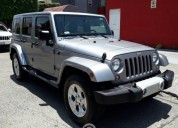 Jeep wrangler unlimited sahara 4x4 gasolina