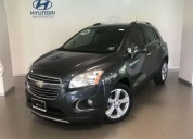 Chevrolet trax gris oxford 2016 gasolina