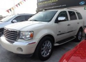 Chrysler aspen limited 2008 a credito gasolina