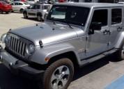 Jeep jk wrangler unlimited sahara 4x4 impecable gasolina
