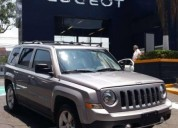 Jeep patriot limited color plata 2016 gasolina