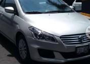 Suzuki ciaz gls color plata 2016 gasolina