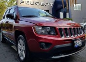 Jeep compass latitud color rojo 2016 gasolina