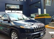 Jeep cherokee limited 2016 gasolina