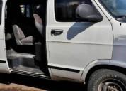 Vendo camioneta ram van usada gas