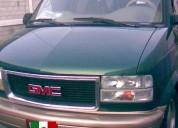 Camioneta van gmc safari 6 cil aut americana legal en palenque