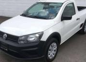 Volkswagen saveiro startline 2017 blanca gasolina