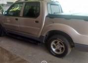 Pick up sport trac doble cabina gasolina