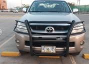 Toyota hilux factura original posible cambio gasolina