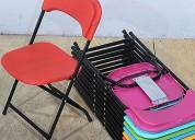 sillas infantiles plegables para eventos en venta