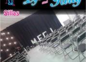 sillas para tu evento en puebla