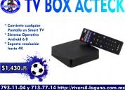 Tv box acteck bleck