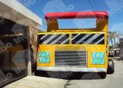 Brincolin inflable camión de volteo