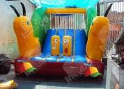 Brincolin inflable escaracol