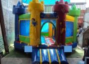 Brincolin inflable castillo hexagonal