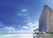 Venta de departamento de lujo en puerto cancun 2 dormitorios 170 m2