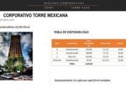 Corporativo torre mexicana 624 m2