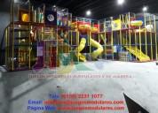 Venta de juegos infantiles para áreas en interior