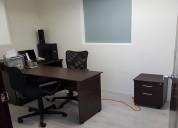Oficina amueblada en col. roma norte