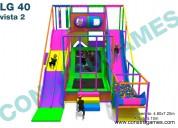 Resbaladilla de carriles extrema juegos infantiles laberintos